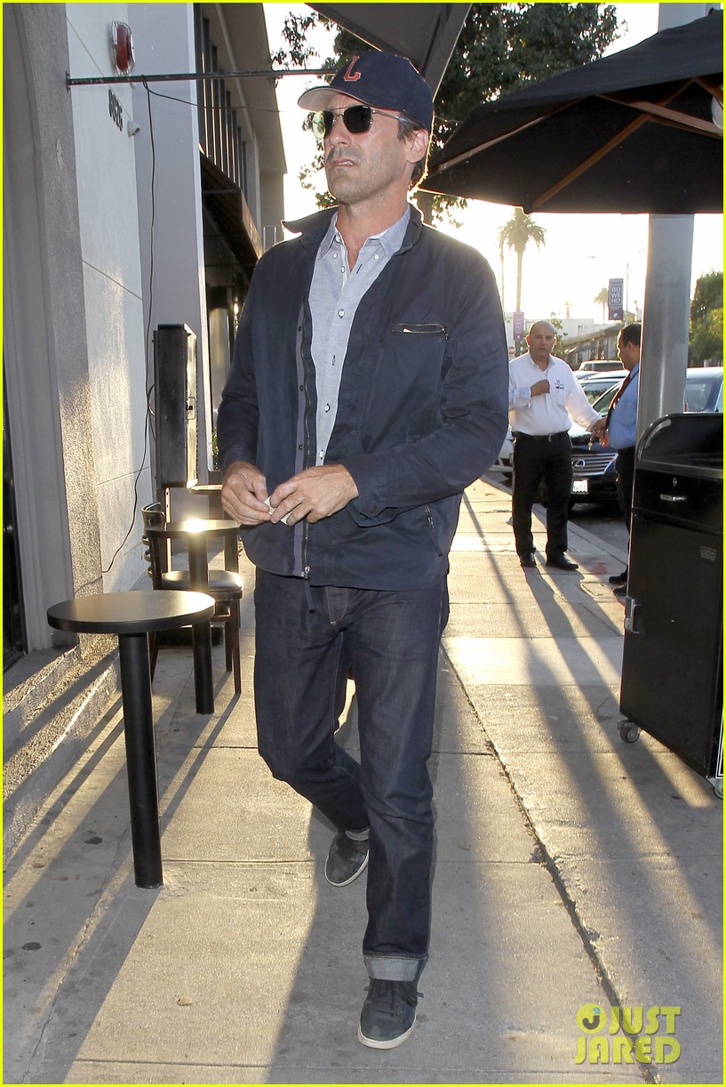 Andres Dinner Hamm jon hamm is in to play a hologram in marjorie prime photo