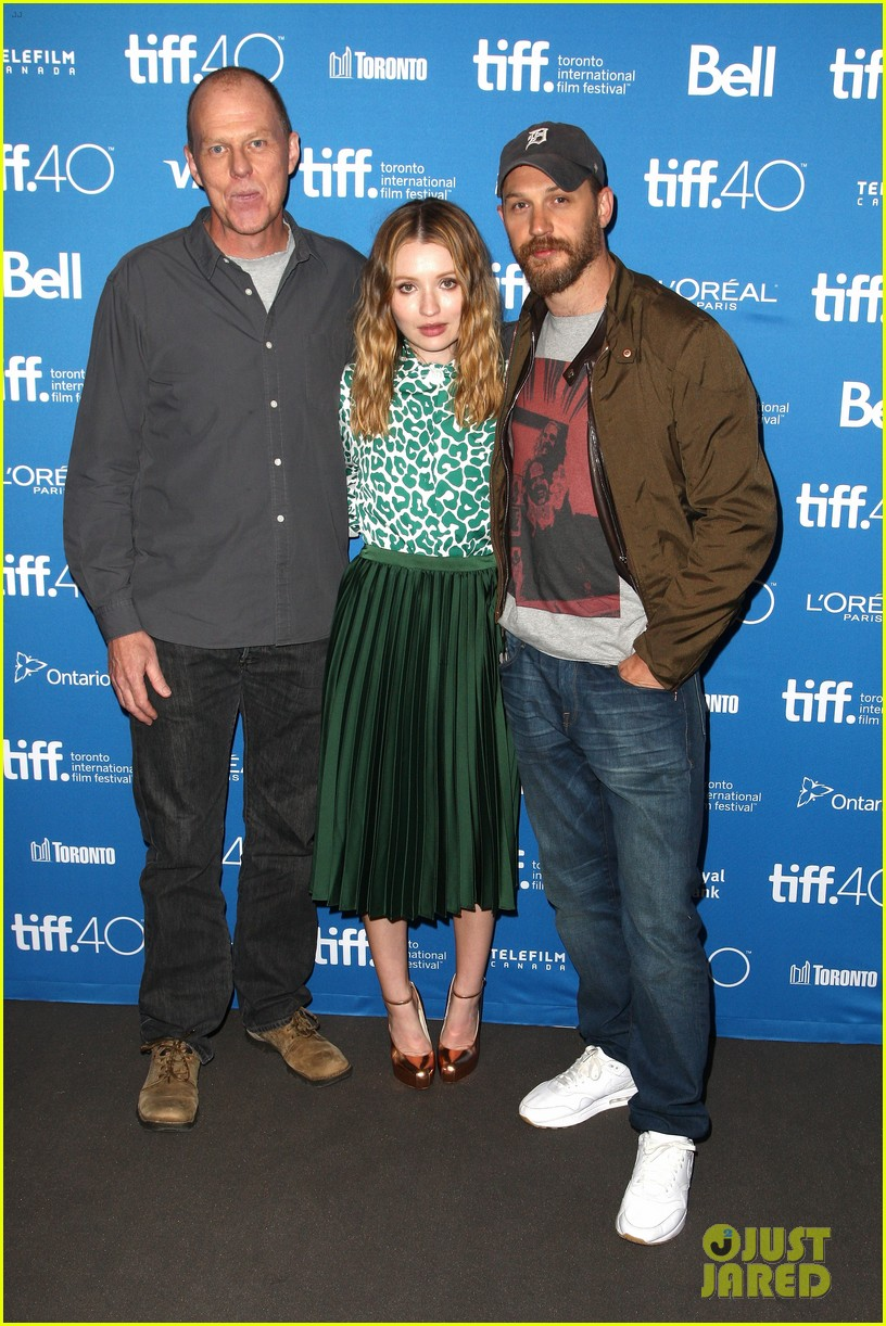 tom hardy emily browning legend tiff 2015 013460438