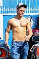 derek hough goes shirtless after dwts practice 13