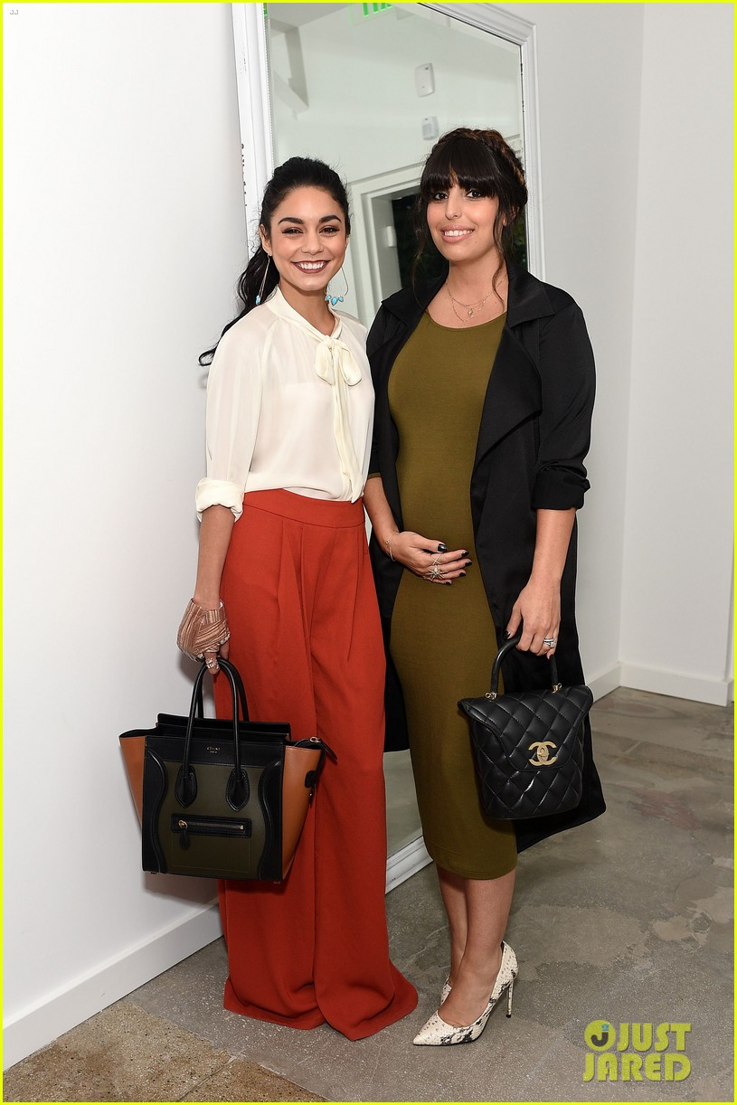 vanessa hudgens lily collins camilla belle get glam for the a list 15th anniversary party 123450960