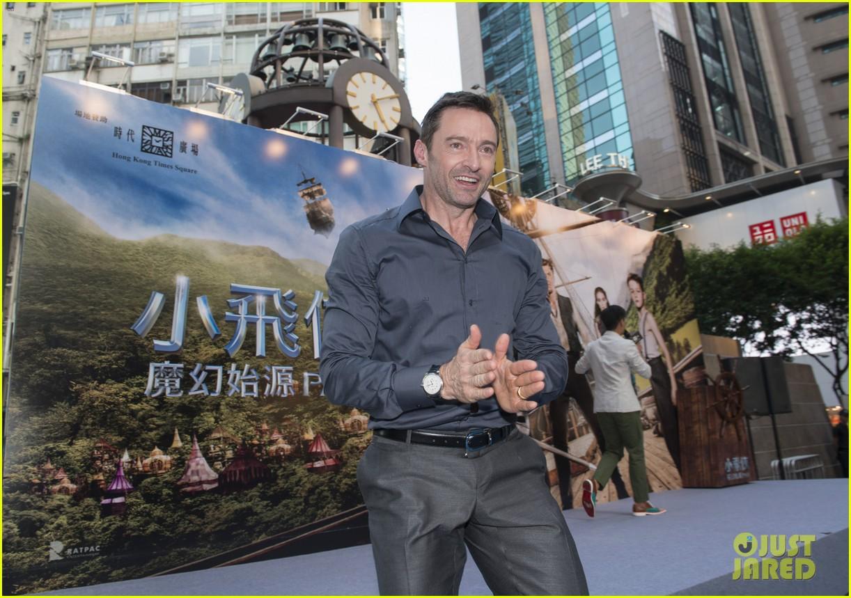 hugh jackman dances with the fire dragon in hong kong 083472714