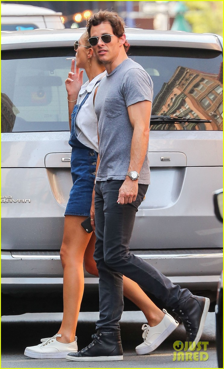 James Marsden Spends Time With British Singer Edei in NYC: Photo ...