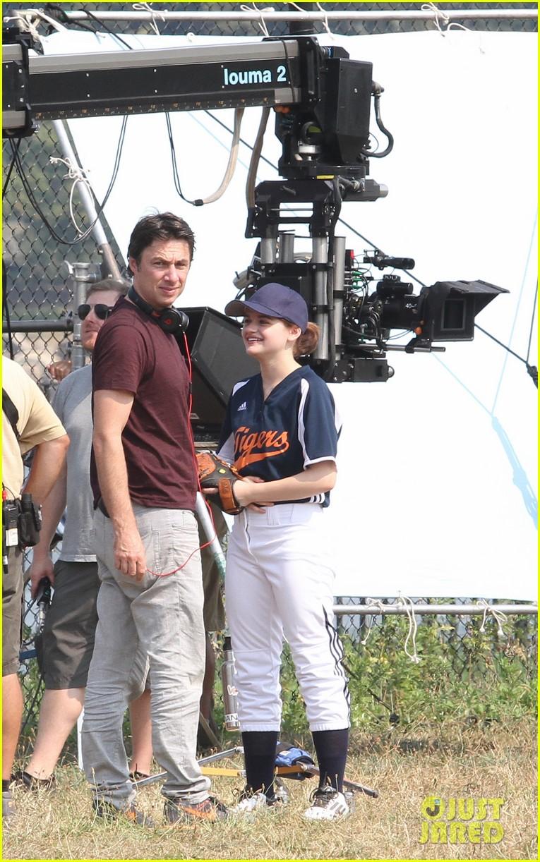 zach braff directs joey kings going in style softball scene 023452389