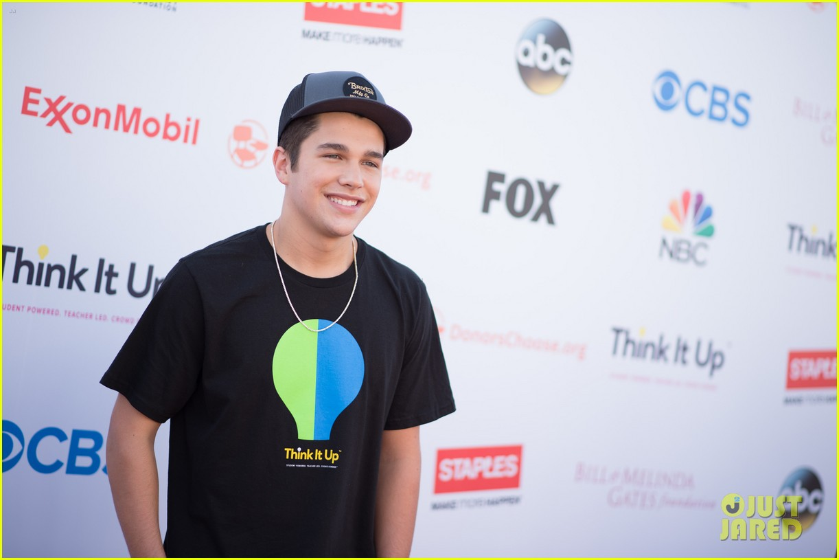 madison pettis taylor lautner austin mahone think it up 163458485