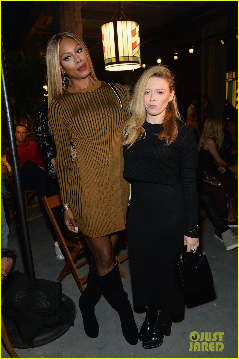 laverne cox natasha lyonne meet up during fashion week 013460406
