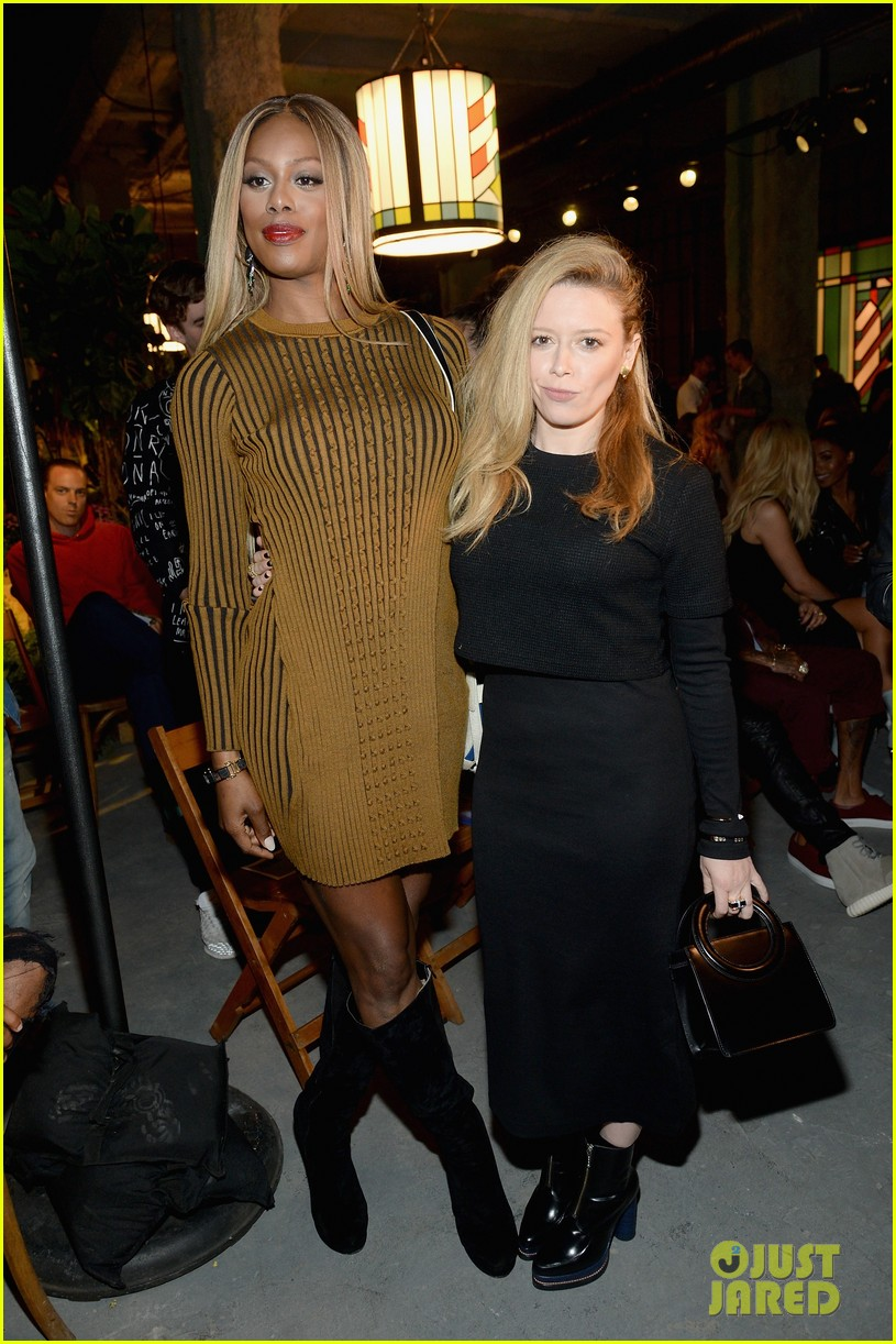 laverne cox natasha lyonne meet up during fashion week 143460419