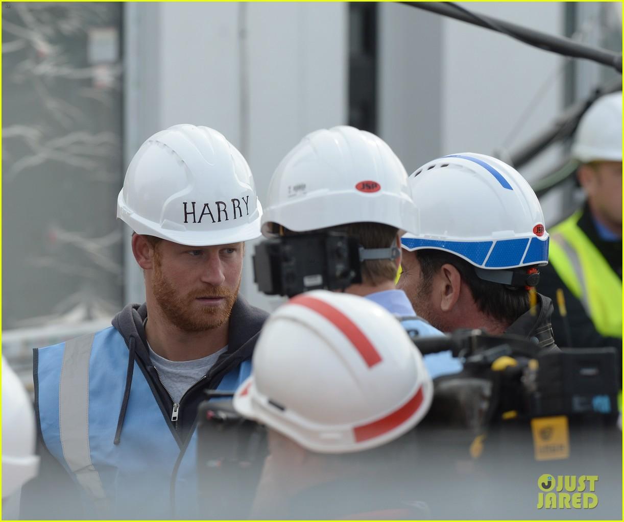 prince william harry hard hats diy sos 163469477