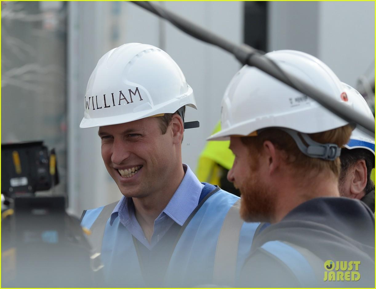 prince william harry hard hats diy sos 323469493
