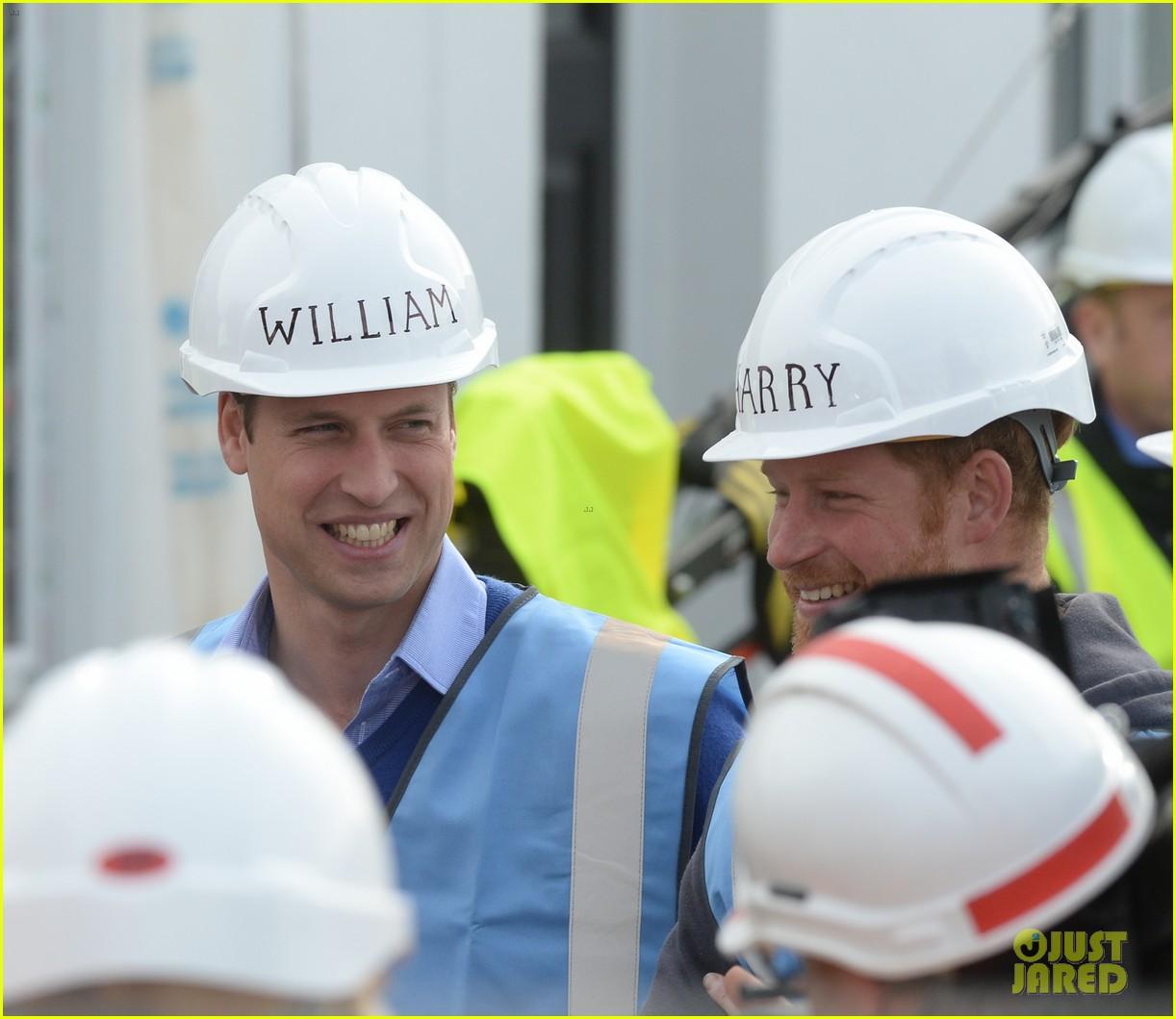 prince william harry hard hats diy sos 423469503