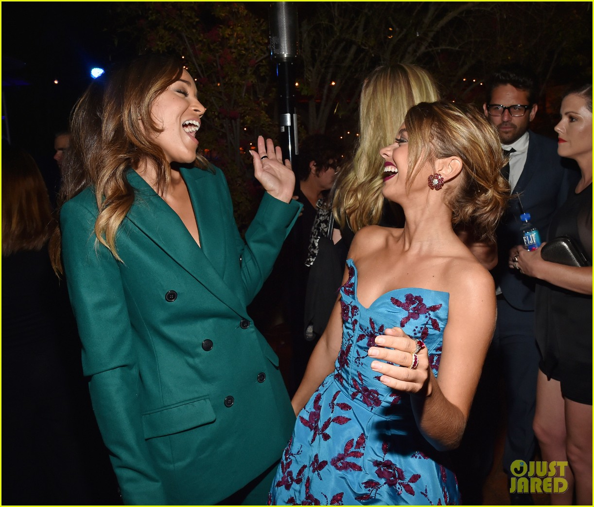 sarah hyland brittany snow variety emmy party ariel winter more 093464794