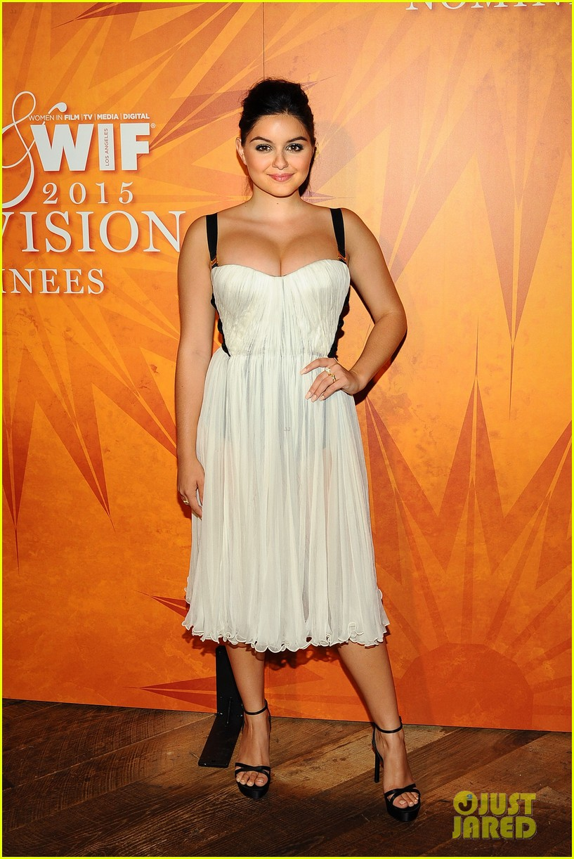 sarah hyland brittany snow variety emmy party ariel winter more 253464810