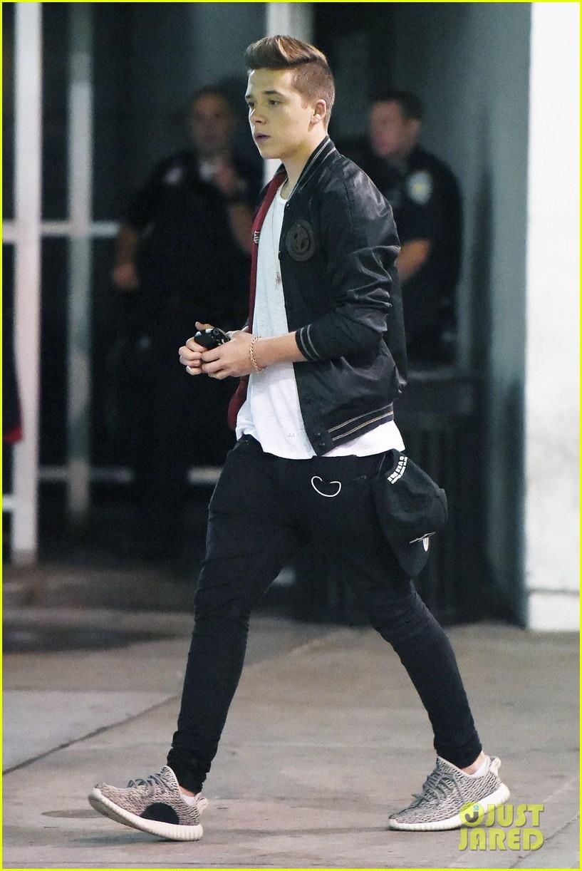 Selena Gomez Meets Brooklyn Beckham At The Polo Ralph Lauren Show During  NYFW 0c349072647e