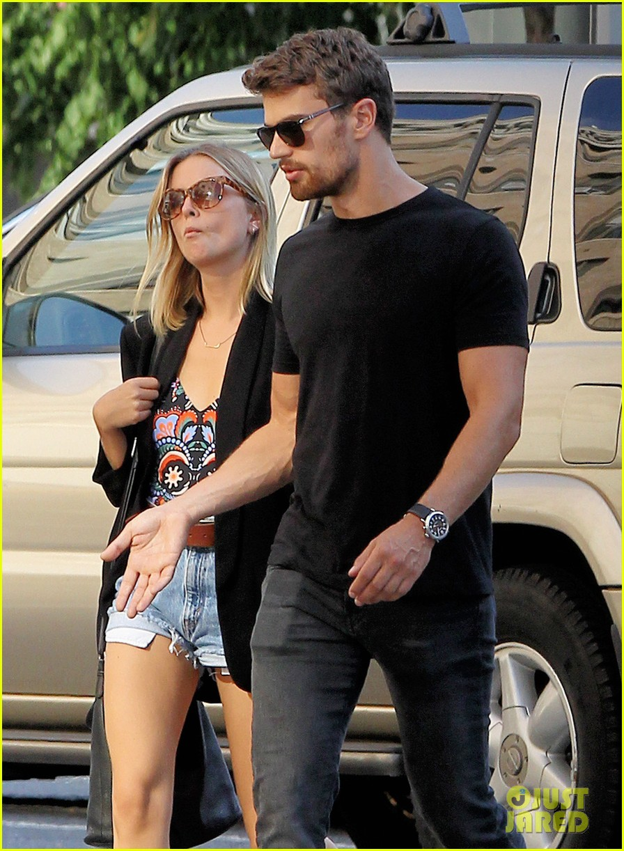 Theo james real girlfriend