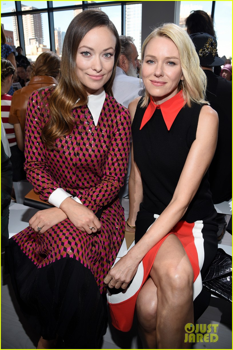 naomi watts olivia wilde buddy up at nyfw 013463370