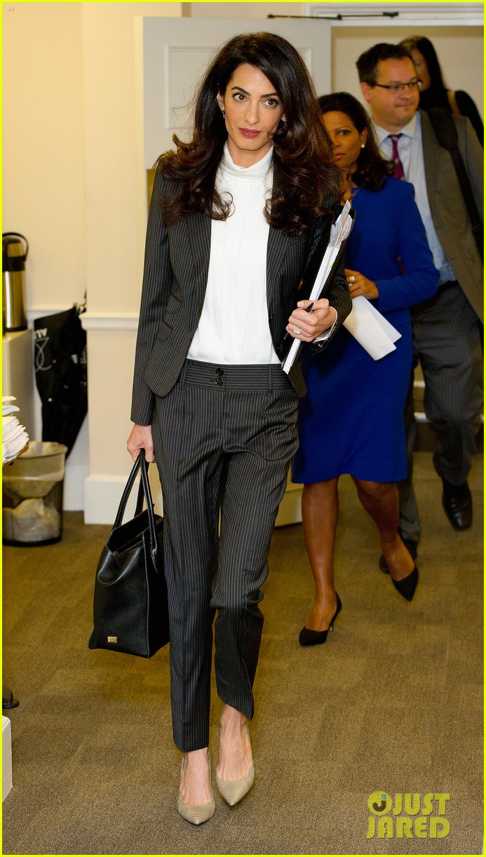 amal clooney fighting for action in the maldives 123477901