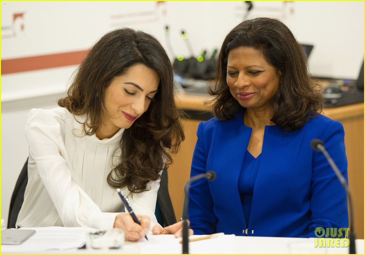 amal clooney fighting for action in the maldives 173477906