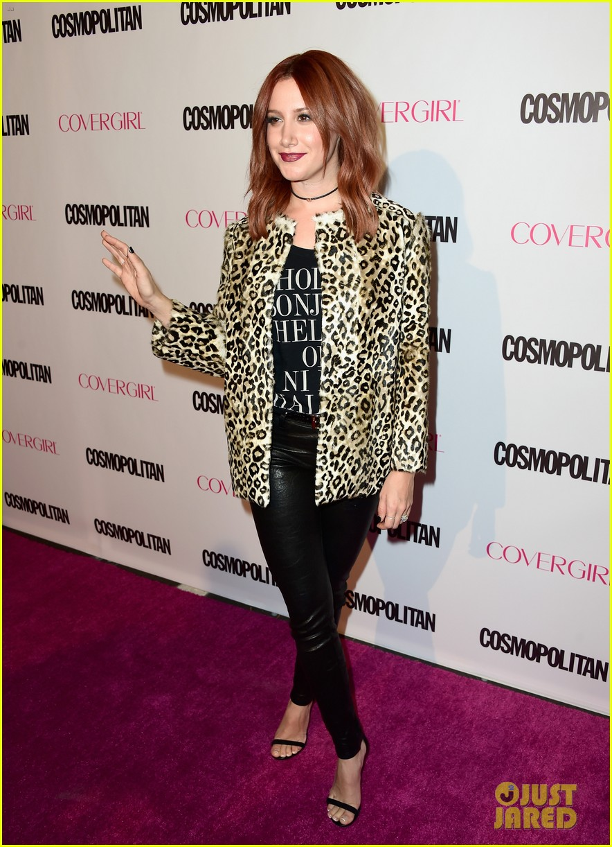 Tisdale ashley red hair new photo