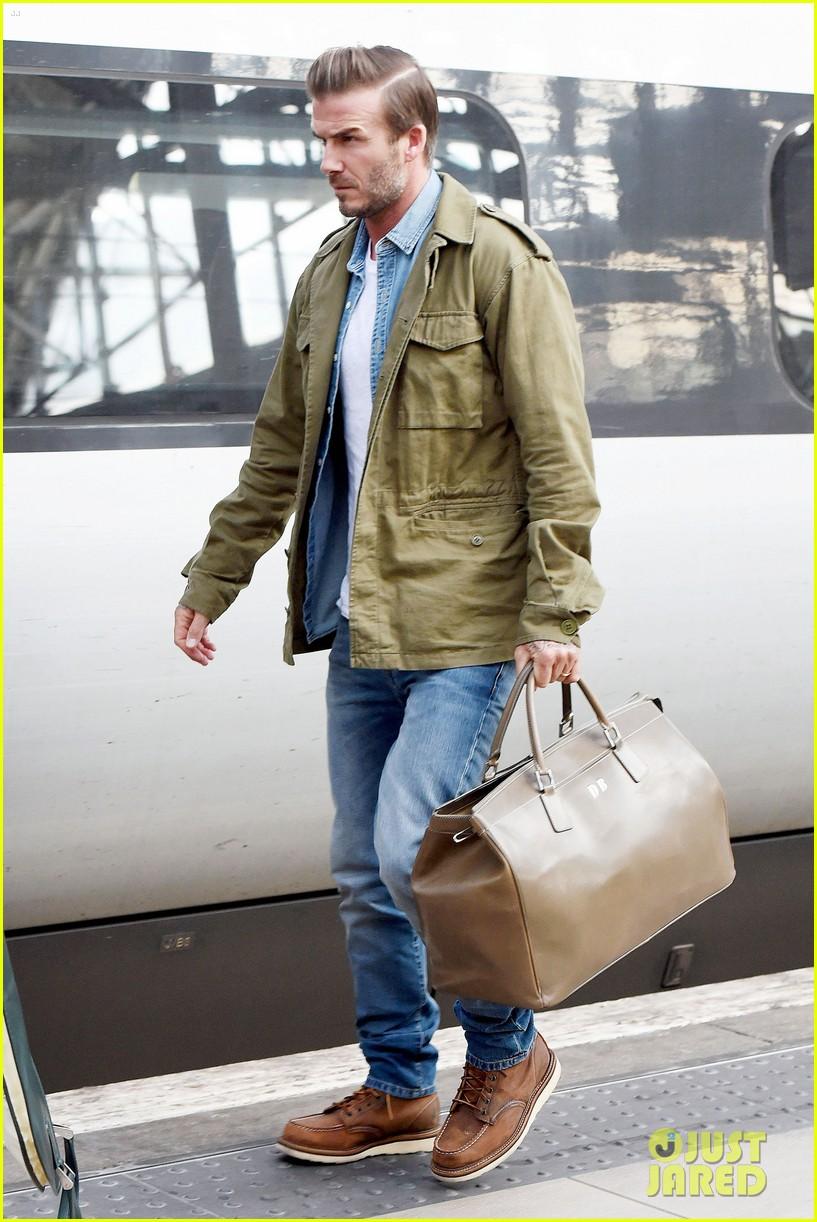ZARA - MAN - LINEN SAF... David Beckham Divorce Rumors