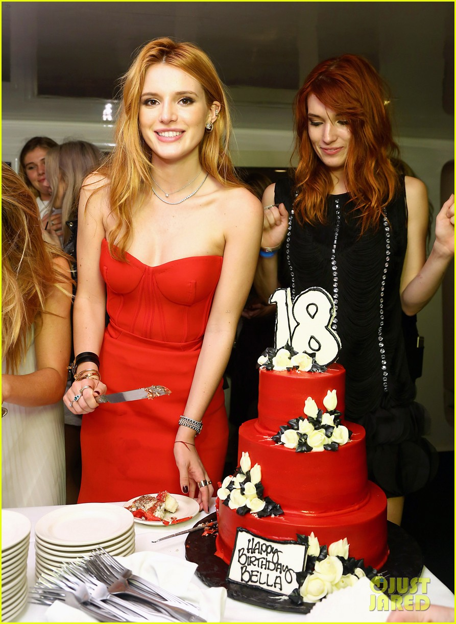 Bella Thorne Celebrates Her 18th Birthday with a Blowout Bash