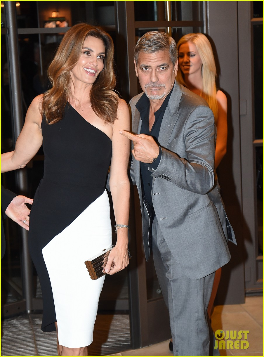 George Clooney at Launch of Casamigos/Cindy Crawford Book October 1, 2015 in London  George-clooney-dishes-on-drunken-nights-with-cindy-crawford-02