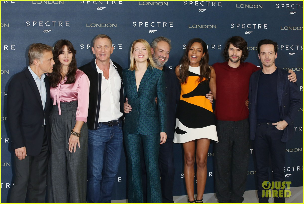 Daniel Craig & 'Spectre' Cast Kick Start Promo Tour In