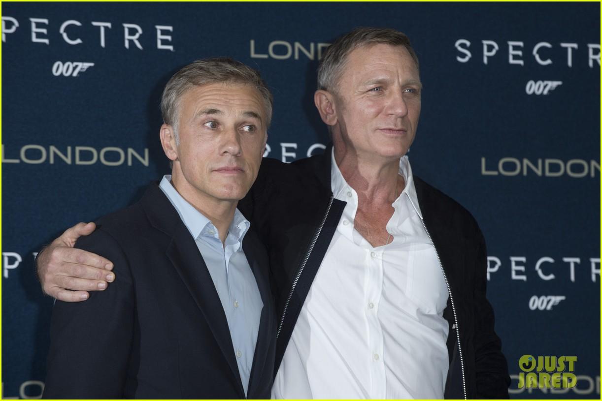Daniel Craig & 'Spectre' Cast Kick Start Promo Tour In