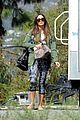 megan fox pictued on new girl set for first time 25