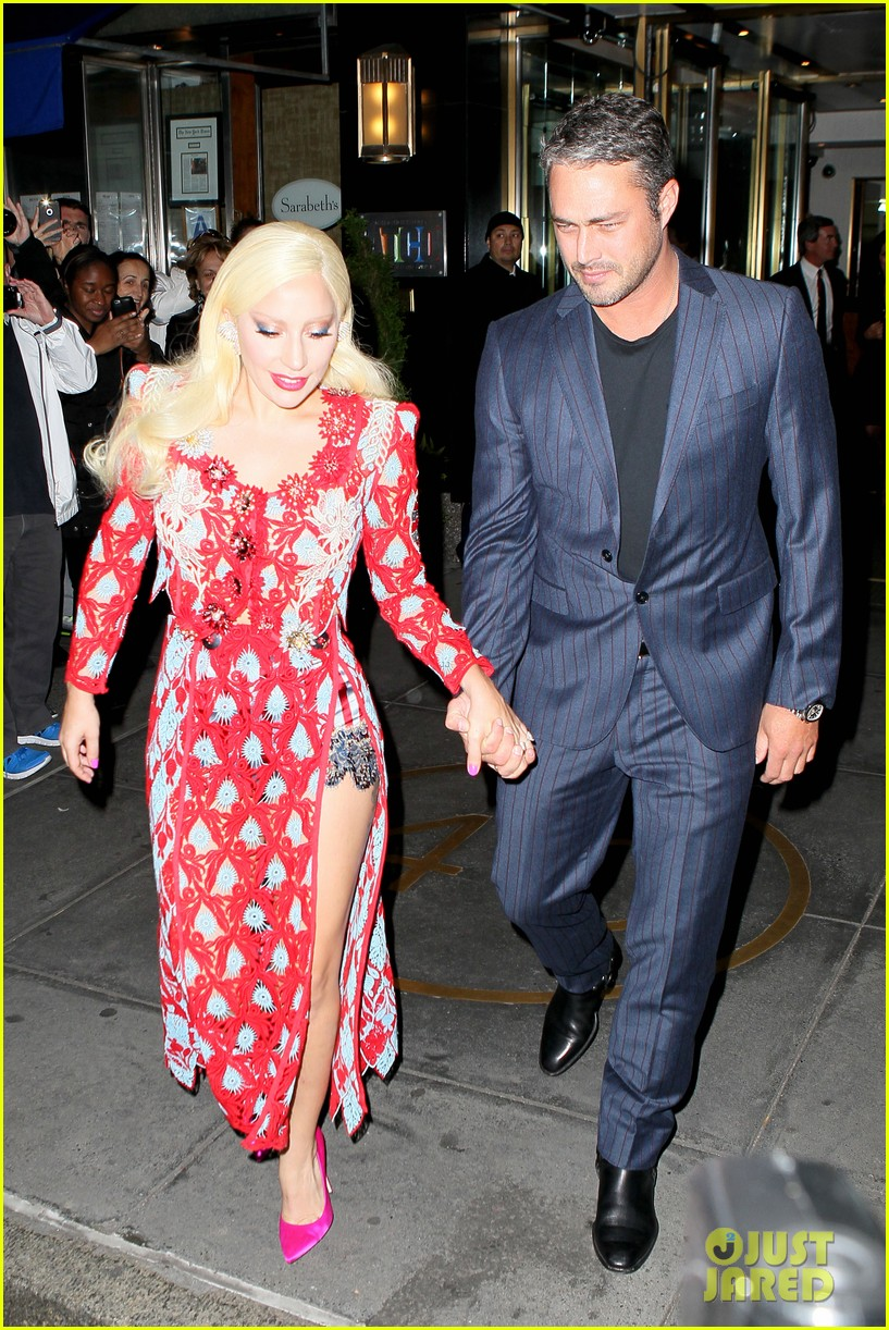 Lady Gaga & Taylor Kinney Couple Up At 'Rock The Kasbah ...