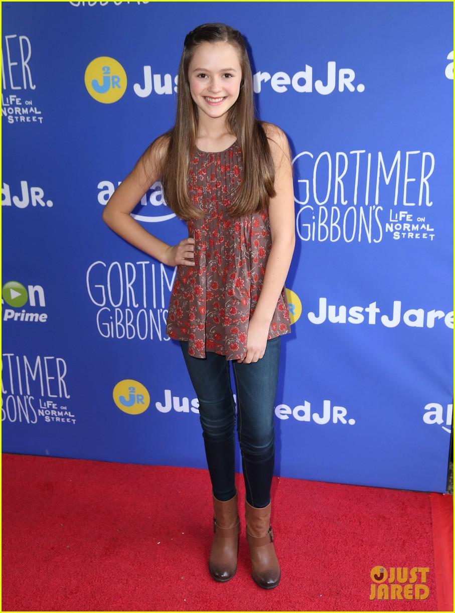 Gortimer Gibbons Cast Celebrates Season 2 at Just Jared