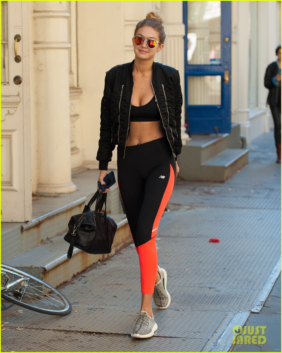 gigi hadid giraffe nyc workout after vic news 073495796