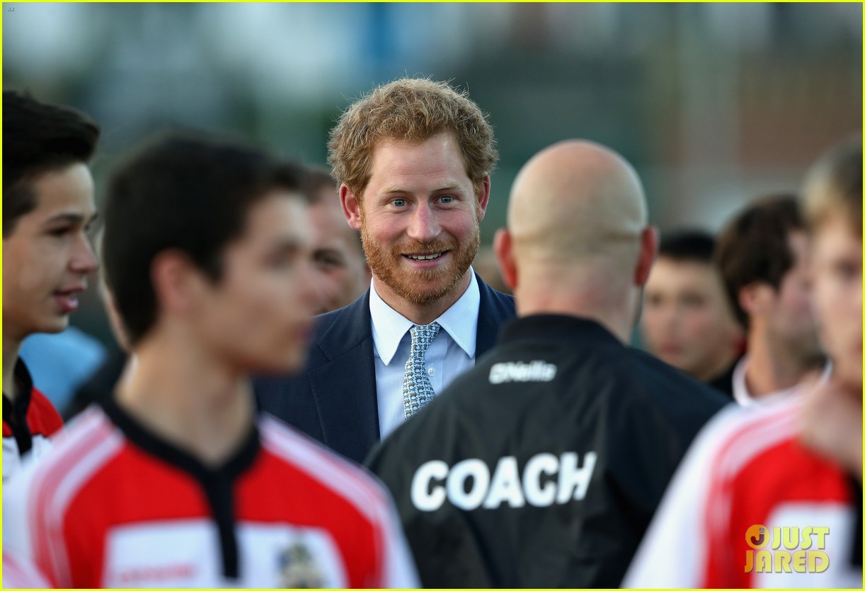 prince harry rugby award devon 063479113