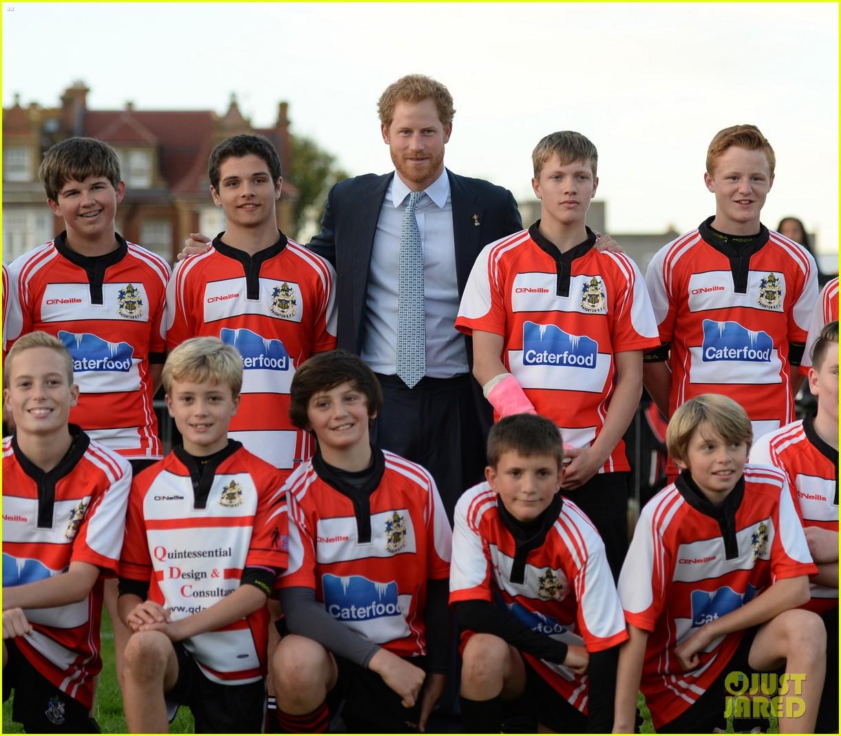 prince harry rugby award devon 243479131