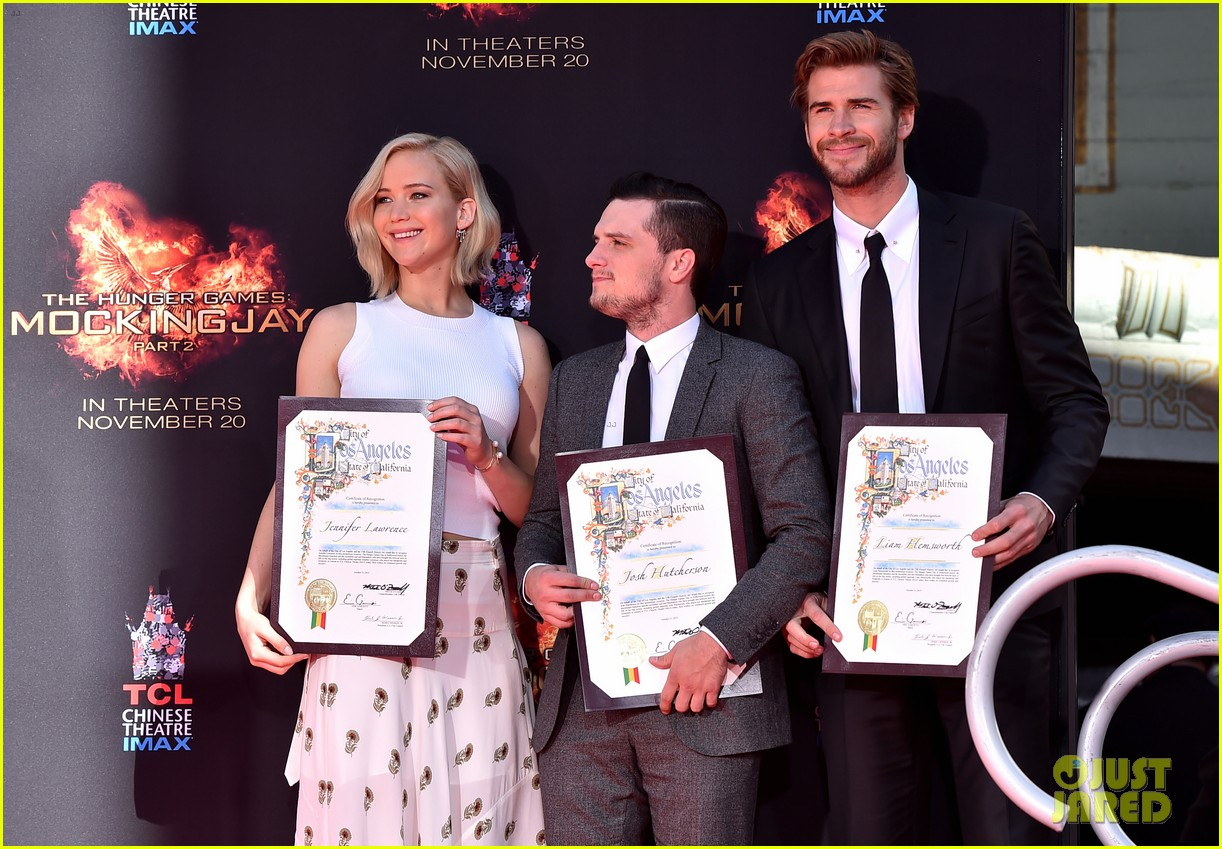 The Hunger Games Cast Makes Their Mark Outside The Tcl Chinese