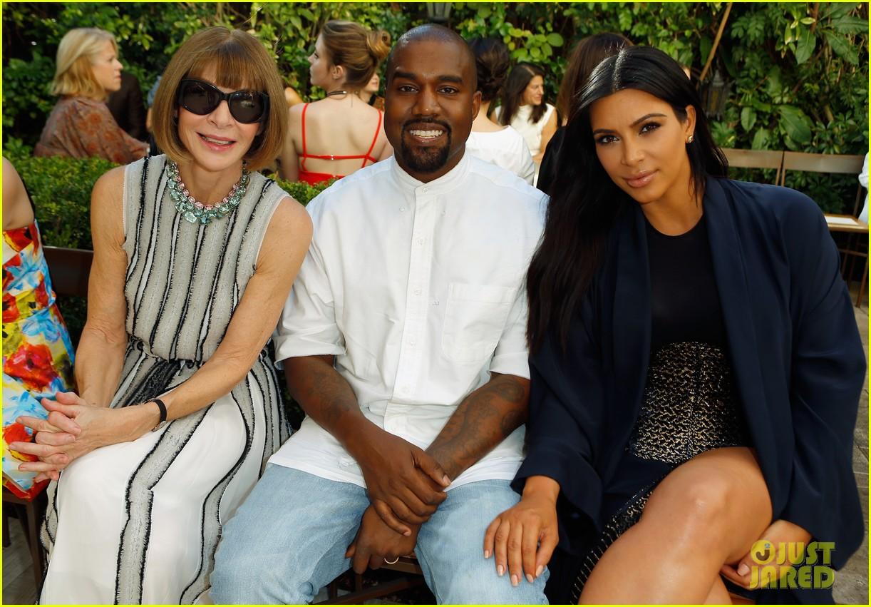 kardashian vogue Kim kanye west