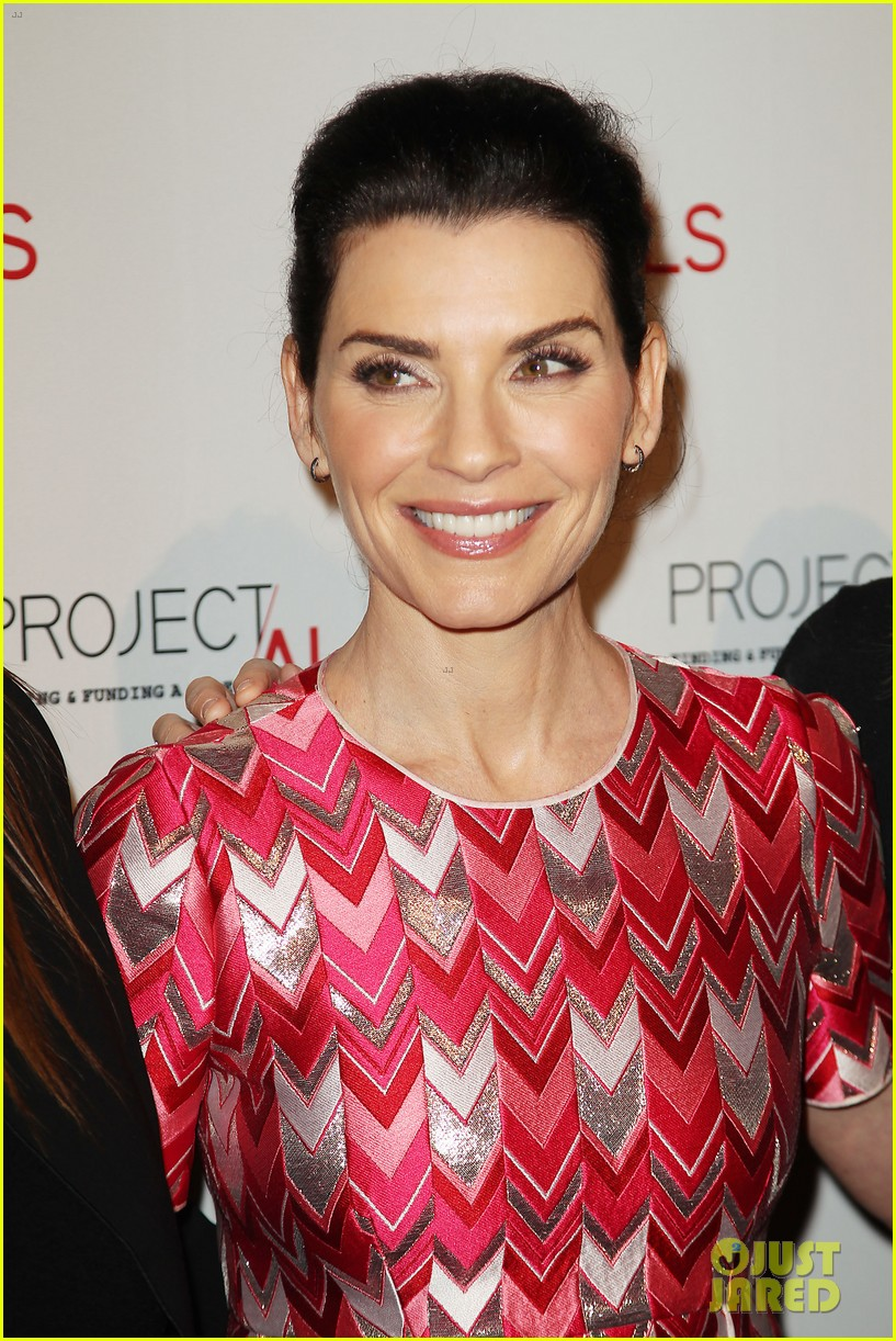julianna margulies ben stiller show their support for project a l s 183494370