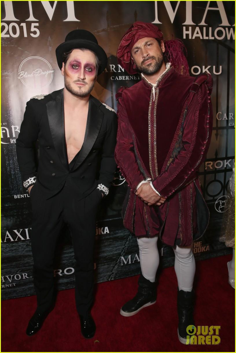 Nick Jonas Celebrates Halloween Early As Hamburgler At Maxim's ...