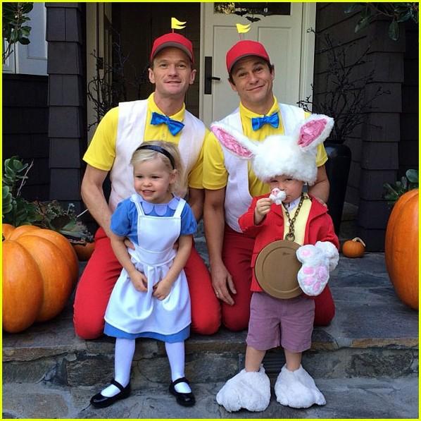 Neil Patrick Harrisu0027 Kidsu0027 First Halloween Costumes Are So Cute  sc 1 st  Just Jared & Neil Patrick Harrisu0027 Kidsu0027 First Halloween Costumes Are So Cute ...