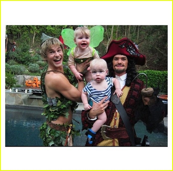 Neil Patrick Harris' Kids' First Halloween Costumes Are So Cute ...