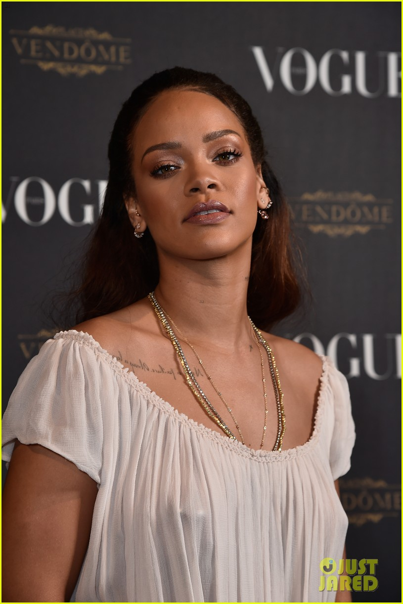With Rihanna see through paris agree, rather