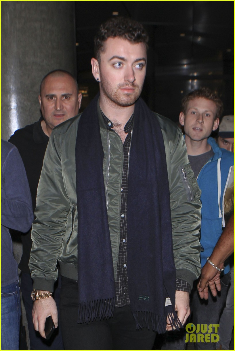 sam smith we can survive concert lax arrival 173490331