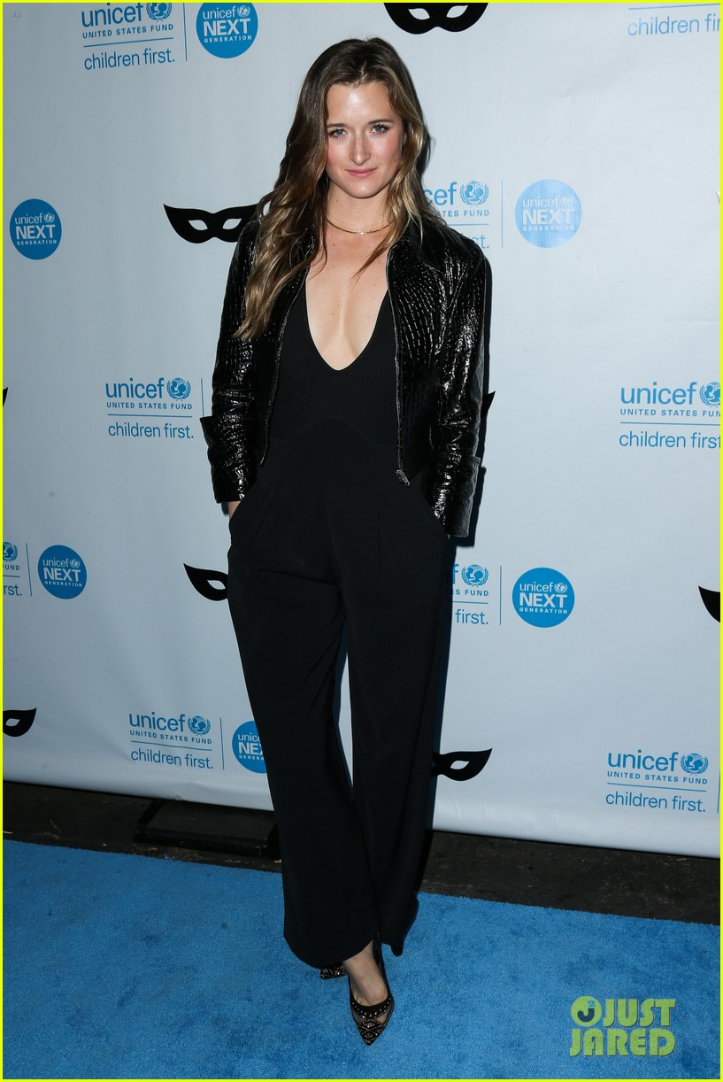 brittany snow annalynne mccord more unicef black white ball 373496675