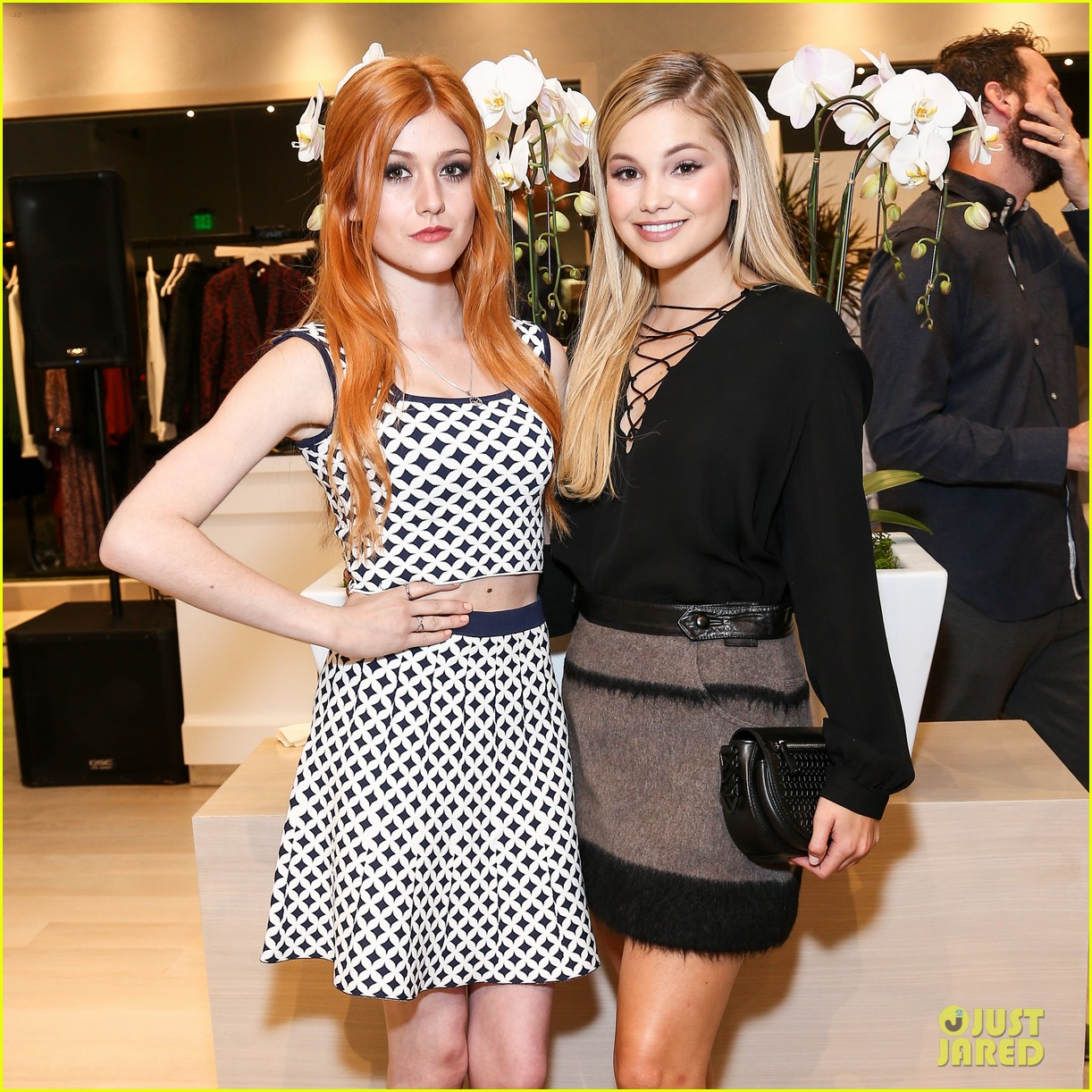 Stefanie Scott and olivia holt