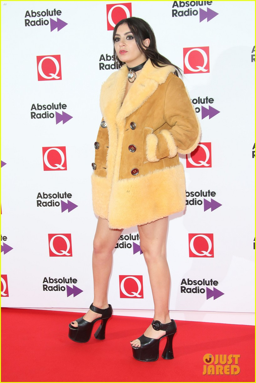 charli xcx miguel more hit the red carpet q awards 323486343