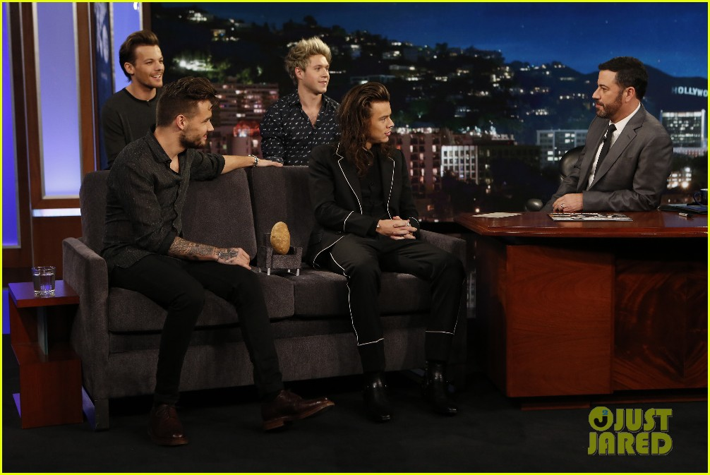one direction shut down hollywood blvd kimmel performances interview 063512591