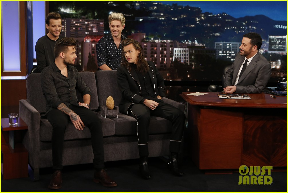 one direction shut down hollywood blvd kimmel performances interview 073512592