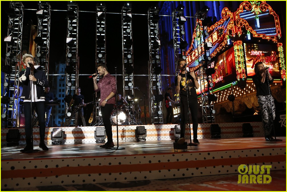 one direction shut down hollywood blvd kimmel performances interview 103512595