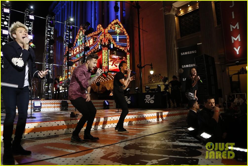 one direction shut down hollywood blvd kimmel performances interview 123512597
