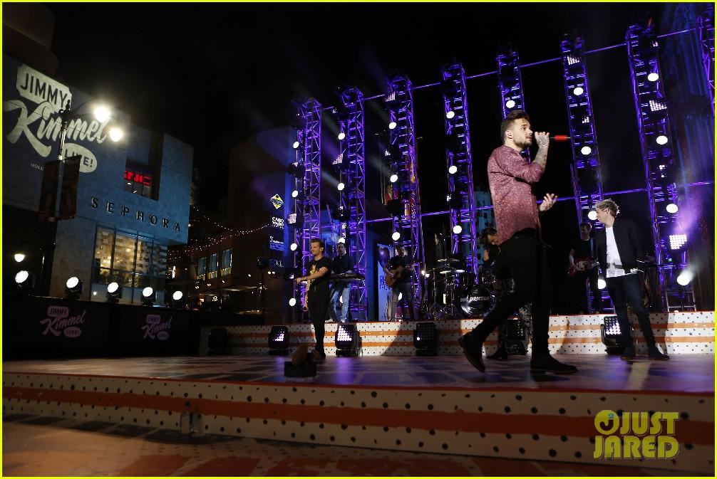 one direction shut down hollywood blvd kimmel performances interview 163512601