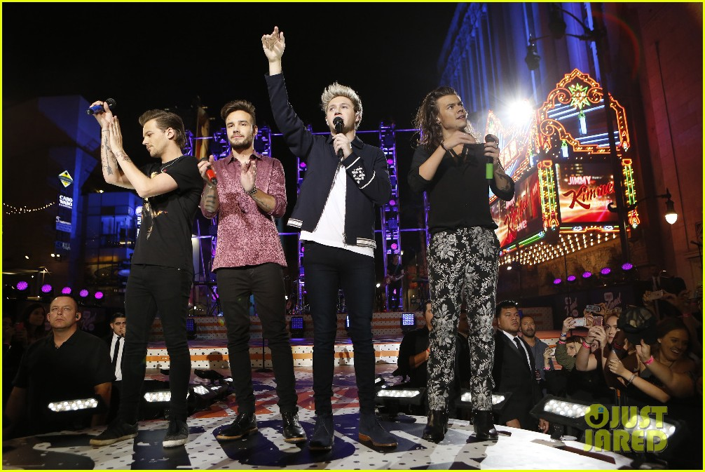 one direction shut down hollywood blvd kimmel performances interview 193512604