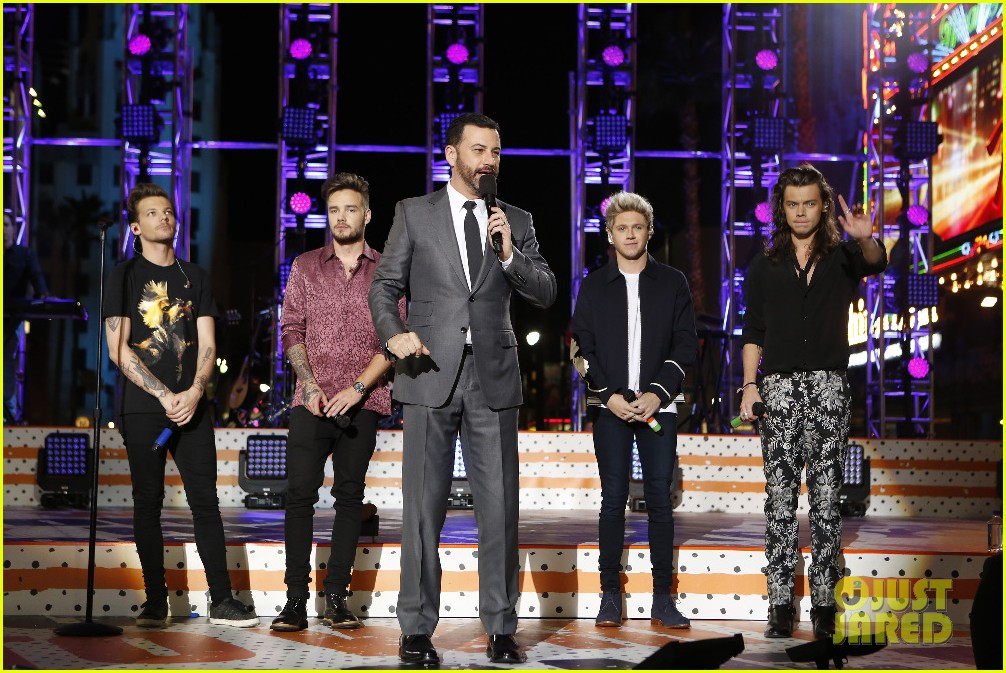 one direction shut down hollywood blvd kimmel performances interview 213512606